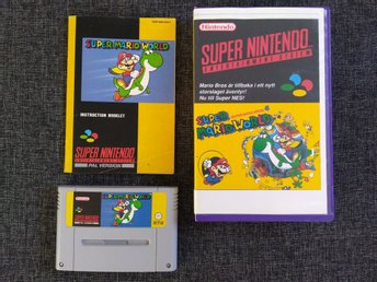Super Mario World, SNES/Super Nintendo PAL
