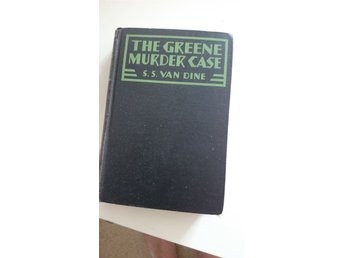 The Greene Murder Case av S.S. Van Dine fr 1927 engelsk text