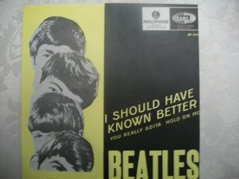 "Beatles ""I should have know better"""