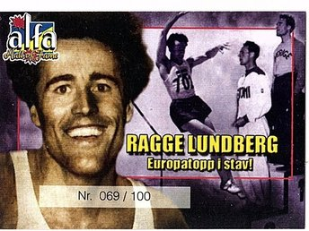 Alfa Hall of Fame Ragge Lundberg 069/100