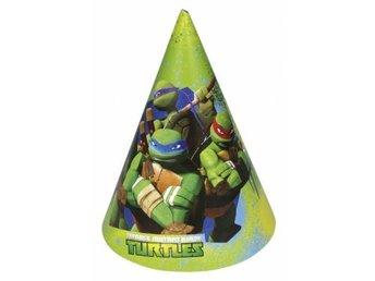 Partyhattar Turtles - kalas - hattar - kalashattar - dekorationer - fest 56af448099706