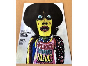 FLEETWOOD MAC MUNCHEN GERMANY 1970 POSTER