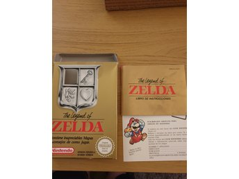 The legend of zelda box med manual