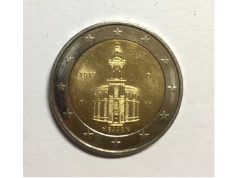 2 euro coin - Paulskirche in Frankfurt - Germany, 2015