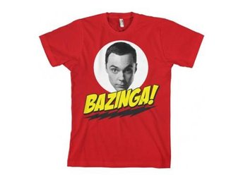 Big Bang Theory T-shirt Bazinga Sheldons Head XL