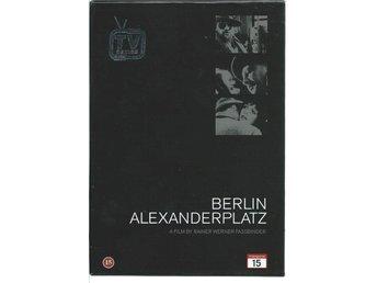 Berlin Alexanderplatz - Fassbinder - TV-serien - 6 DVD - 17 timmar - Lund - Berlin Alexanderplatz - Fassbinder - TV-serien - 6 DVD - 17 timmar - Lund