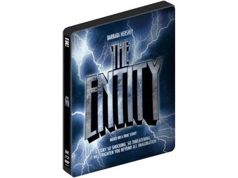 THE ENTITY Okänt Väsen (Limited STEELBOOK) Barbara Hershey (1982) + DVD! GRYM!