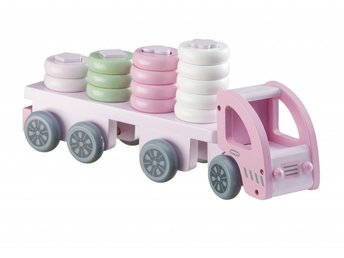Kids Concept Plocklastbil Rosa - Hallsberg - Kids Concept Plocklastbil Rosa - Hallsberg