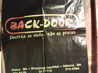 Plastpåse, Backdoor, Brasilien