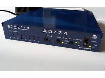Analog till Digital ADAT AD-omvandlare -Sonorus AUDI/O AD/24 - 8 kanaler in - Stockholm - Analog till Digital ADAT AD-omvandlare -Sonorus AUDI/O AD/24 - 8 kanaler in - Stockholm