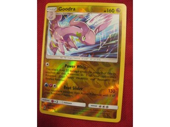 GOODRA - 160 HP - RARE REVERSE HOLO - POKEMON GUARDIANS RISING 96/145