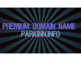 Premium Domain Name Parkinn.info