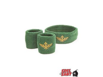 Zelda Skyward Sword Sweatband Set