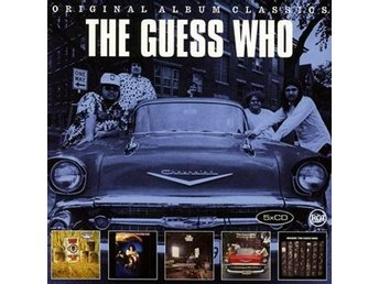 Guess Who: Original album classics 1969-72 (5 CD)