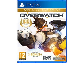 Overwatch Game of the Year Edition (+10 Loot boxar) - Helt nytt till PS4!!! REA