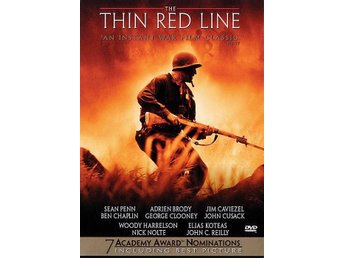 The Thin Red Line 98 Terrence Malick med Sean Penn, George Clooney KANON DVD OOP