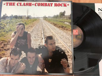 The Clash - Combat Rock LP EU 1982