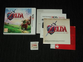3DS Zelda Ocarina of Time 3D