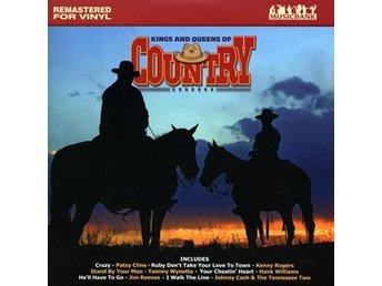 Kings and queens of country (Vinyl LP)