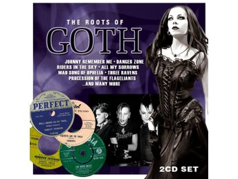 THE ROOTS OF GOTH-Ny 2 CD+Slipcase-Collection Dark Early Spooky Music