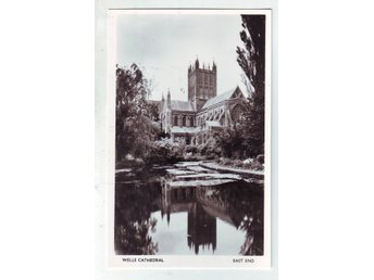 Wells Cathedral East end England Wells somerset