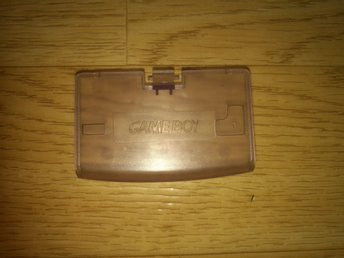 Game Boy Advance Batterilucka Transparent NY!