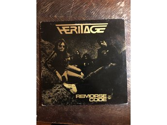 HERITAGE - Remorse Code. 1982. UK press! Rondelet Rec. GASKIN  NWOBHM. METAL. LP