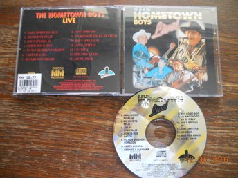 THE HOMETOWN BOYS - Live, CD EMI Latin USA 1994