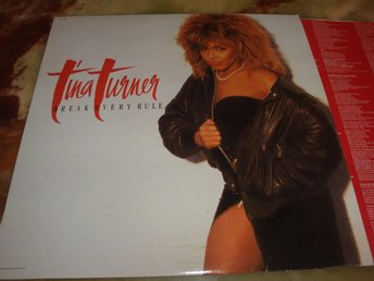 TINA TURNER - BREAK EVERY RULE LP 1986 CAN