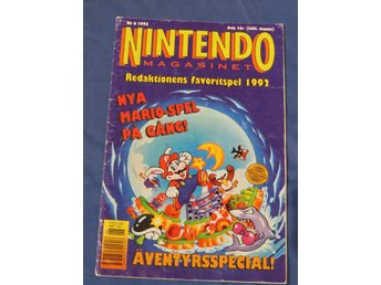 Nintendomagasinet Nintendo Magasinet 1993 Nr 6