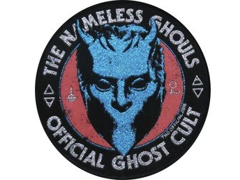 GHOST Tygmärke (GHOST patch) The Nameless Ghouls Official Ghost Cult
