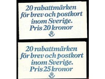 RABATTMÄRKEN:2 häften Valörlösa 265:-!!SE BILD! - Göteborg - RABATTMÄRKEN:2 häften Valörlösa 265:-!!SE BILD! - Göteborg