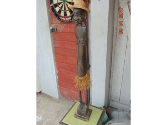 unusual old sculpture of wood from Africa high 100cm