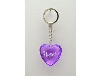 Huset Diamond keyring