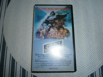 Star Wars (The Empire strikes back) Stjärnornas Krig VHS