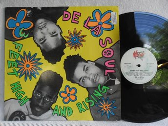 DE LA SOUL - 3 FEET HIGH AND RISING - MRLP 3140