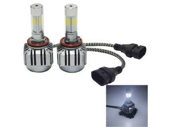Led Strålkastare H11 36W 4800LM 6000K - 2Pack Headlight Lampa