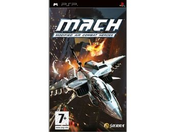 MACH - Modified Air Combat Heroes - Playstation PSP