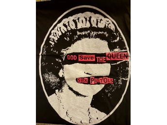 Sex Pistols God save the queen tshirt storlek X-Large