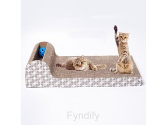 Katt Scratch Board Pad Scratcher Bed Mat