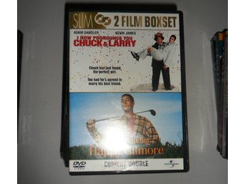 DVD--CHUCK&LARRY, HAPPY MR GILMORE--NYSKICK