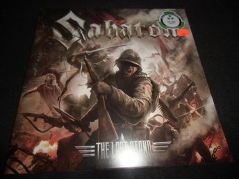 Sabaton - The last stand - 2LP - 2016 - Ny