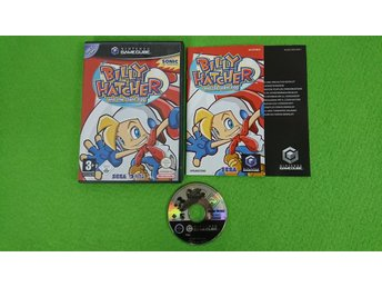 Billy Hatcher and the Giant Egg Gamecube Nintendo Game Cube