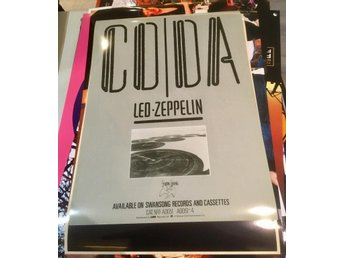 LED ZEPPELIN CODA 1982 PHOTO POSTER