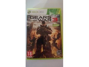 Gears of War 3 xbox 360 spel