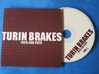 Turin Brakes - Over and Over CD Singel Promo