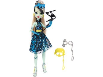 Monster High Frankie Stein Dance the Fright Away Doll Docka 30cm