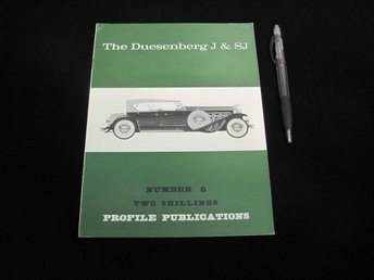The Duesenberg J & SJ (#6 Profile Publications)