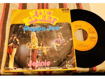 THE SWEET • Poppa Joe - Vinyl singel 1972