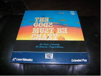 The gods must be crazy- 1st Laserdisc